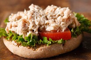 Herbed Tuna Salad Sandwich - - Make tweaks (or swap for my old standby tuna salad recipe) and it's Simply Filling! - -