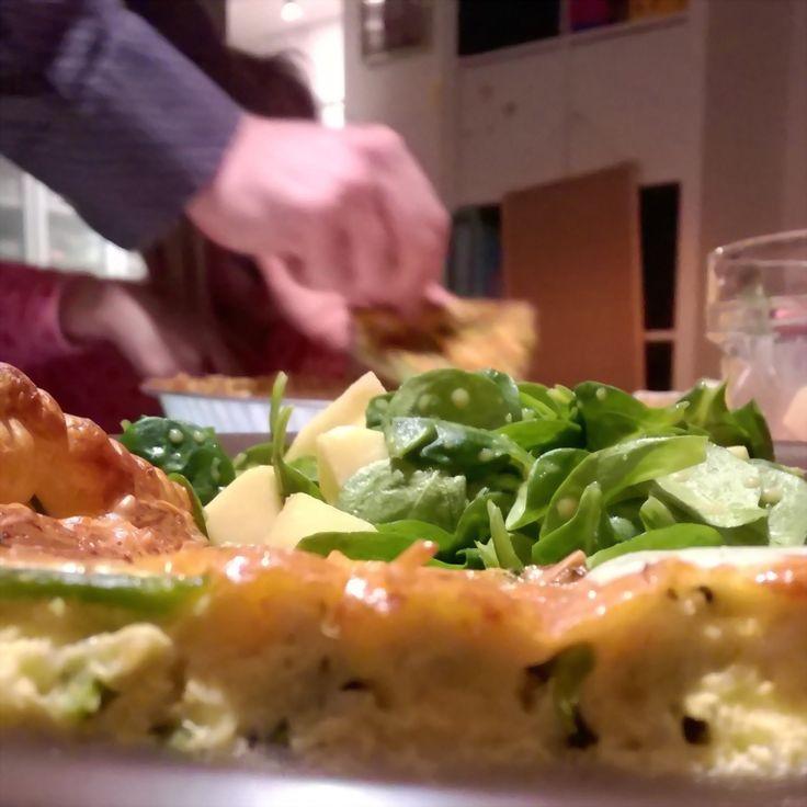 Lieveke's dagen zonder: Recept: Quiche met Bimi of broccoli en Roquefortsaus