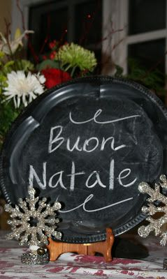 ciao! newport beach: christmas fun with chalkboard paint