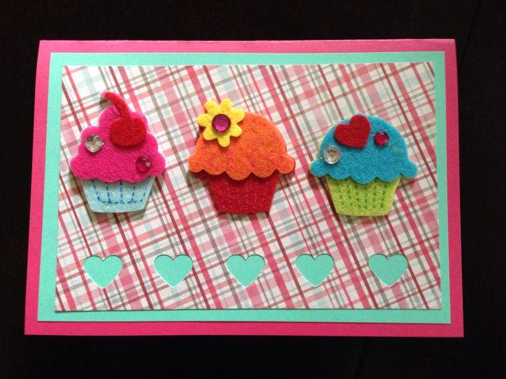 Birthday cupcakes #2