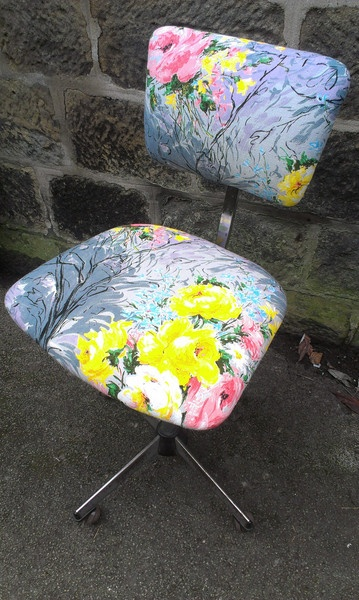 eclectic chair leeds upholstery vintage chairs and cushions