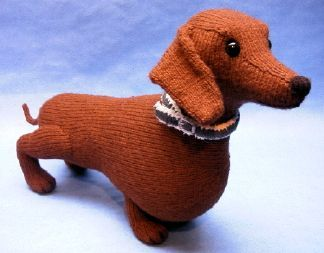 Would love to get my hands on this pattern. This toy looks more like my real dachsy than any of the others that I have seen yet. Trouble is that I would have to order it from England. It looks