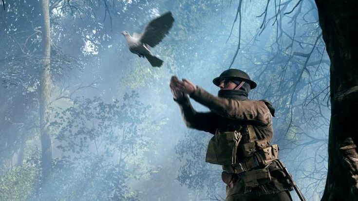 PIGEON Gameplay! This scene in BF1 left me speechless. DICE really did their best to show what The Great War (World War 1) looked like in Battlefield 1's single player & multiplayer. This is one of the many great scenes in the game.