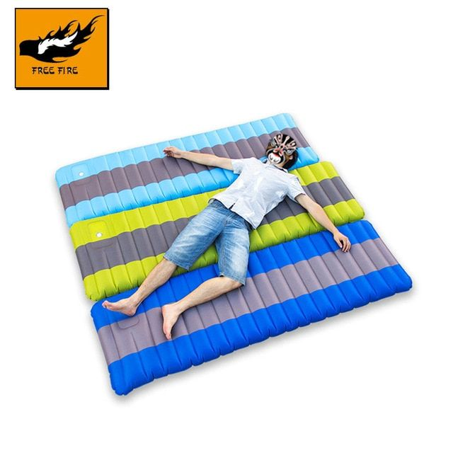 12cm Air Mattress Self Inflatable Camping Mat 190x60x12cm Lightweight Sleeping Pad Inflatable Sleeping Pad Thi Sleeping Pads Camping Sleeping Pad Camping Mat