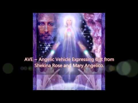 AVE Maria Light Language Song & Mother Mary's Rose Ray Gift to Humanity