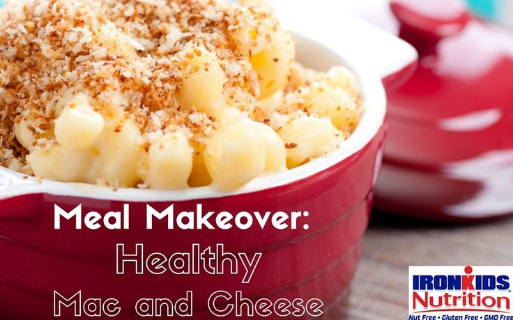 Meal Makeover Healthy Mac and Cheese #IronKidsNutrition