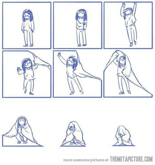 """""""How I feel some days…""""    Truth, but also liked the artisticness to it :) Great portrayal of emotion~"""