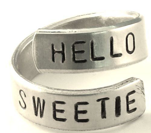 Hello Sweetie Doctor Who Ring Doctor Who Jewelry: Dress It Up With Doctor Who