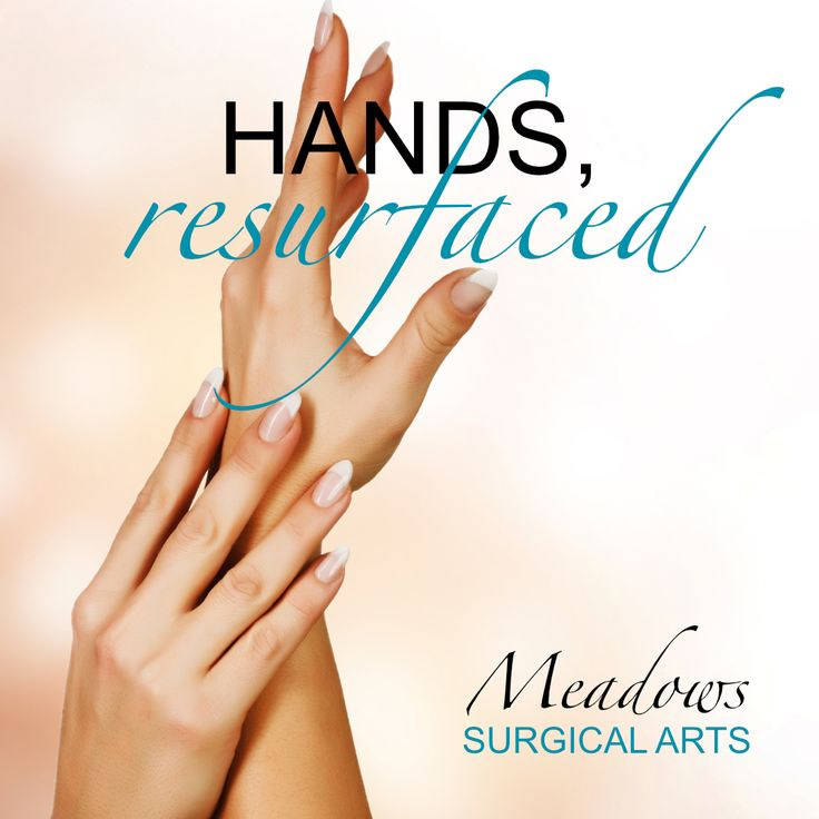 Hands resurfaced to eliminate sunspots with CO2 Laser Resurfacing! #meadowssurgicalarts #handsresurfacedCO2 | Meadows Surgical Arts | Cosmetic Surgery Atlanta | (706) 335-3555 Commerce | (678) 541-0339 Buford | www.meadowssurgicalarts.com