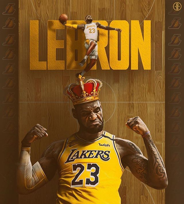 Lebron 74k On Instagram How Many Points Will Lebron Average When The Season Returns Follow L King Lebron James Lebron James Wallpapers Lebron James