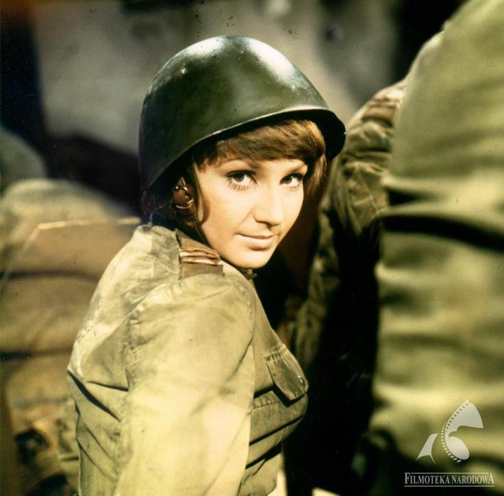 """Małgorzata Niemirska - """"Lidka"""" known from the epic war Tv series."""