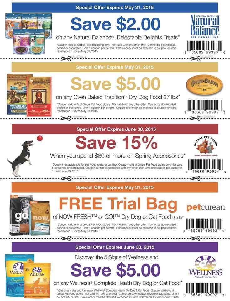 coupons for healthy food canada