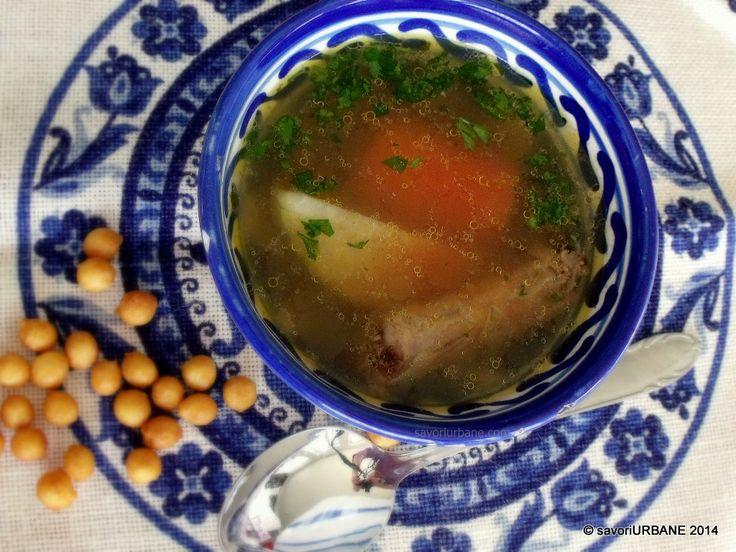 Supa limpede de gat de pui si curcan