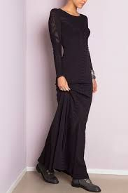 Long black dress by Oclay Gulsen #lbd #littleblackdress #lbdmoments #littleblackdressdk