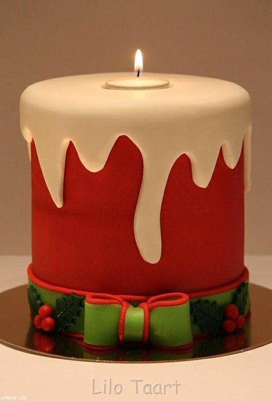 Christmas Cake Decorating Ideas Without Fondant : Best 25+ Xmas cakes ideas on Pinterest Christmas cake ...