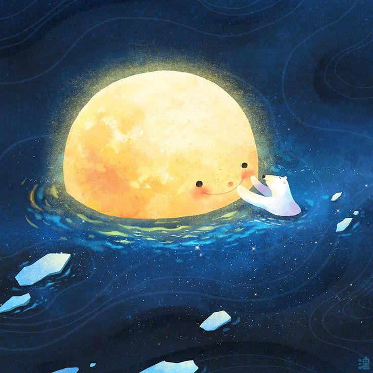 As Ilustrações Mágicas Deste Artista Taiwanês Vão Fazer Você Se Sentir Aquecido…
