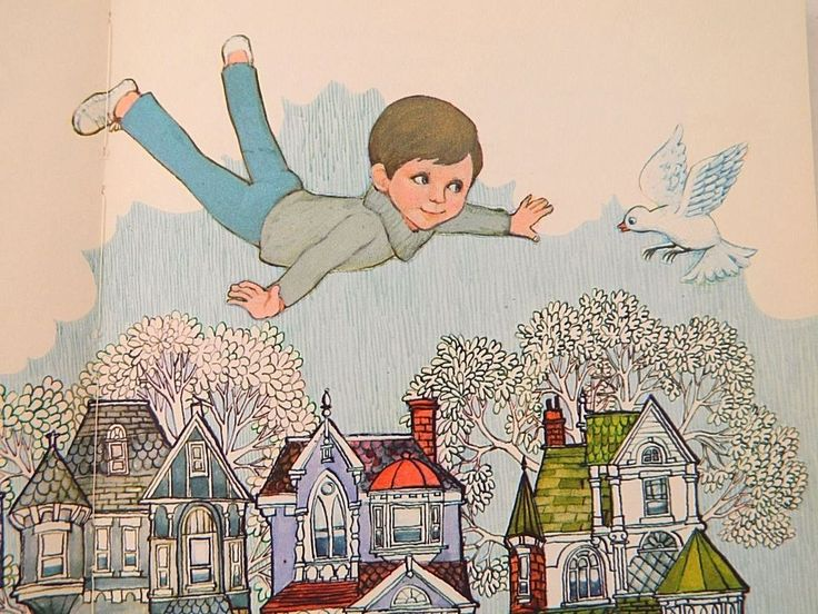 """Vintage 70s Children's Book """"I Wish I Could"""" by Dean Walley Hallmark Cards 1970"""