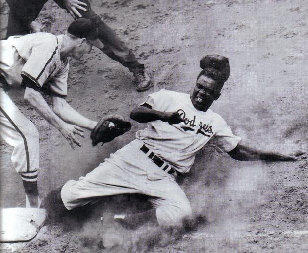 the break through of jackie robinson in american baseball Jack roosevelt robinson (january 31, 1919 – october 24, 1972) was an american professional baseball player who became the first african american to play in major league baseball (mlb) in the modern era.