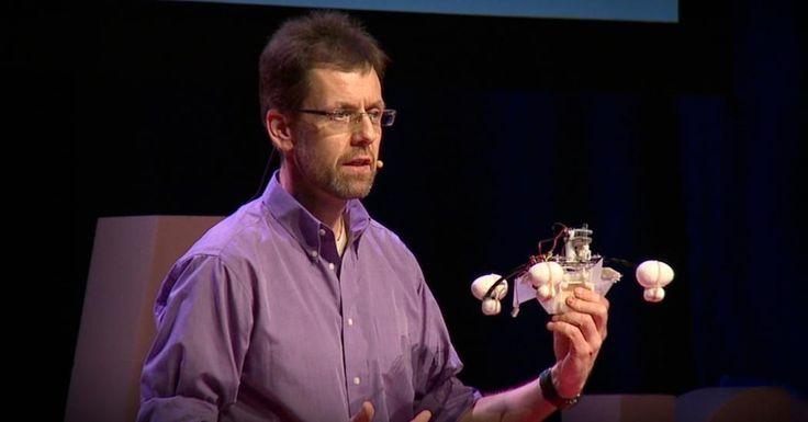 "Meet the ""Row-bot,"" a robot that cleans up pollution and generates the electricity needed to power itself by swallowing dirty water. Roboticist Jonathan Rossiter explains how this special swimming machine, which uses a microbial fuel cell to neutralize algal blooms and oil slicks, could be a precursor to biodegradable, autonomous pollution-fighting robots."