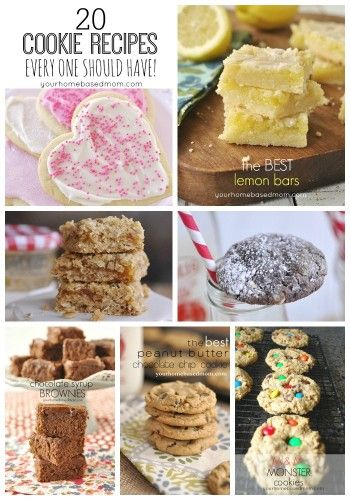 Sharing 20 of my favorite cookie recipes that everyone should have!