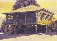 """Cairns Summer"" Ludij Peden Heritage Artist Yungaburra Atherton Tablelands"
