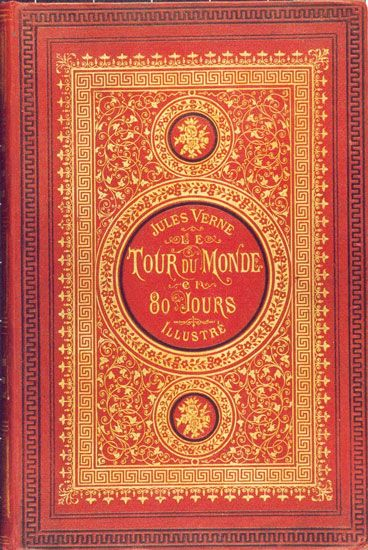 Book Cover - Jules Verne