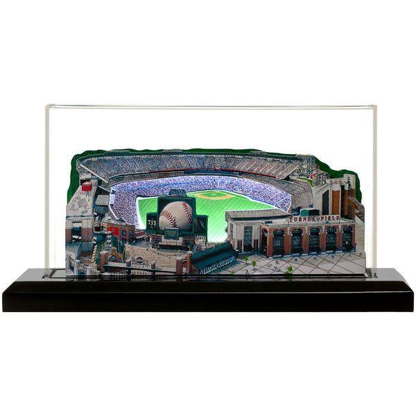 "Atlanta Braves 13"" x 6"" Turner Field Light Up Replica Ballpark - $179.99"