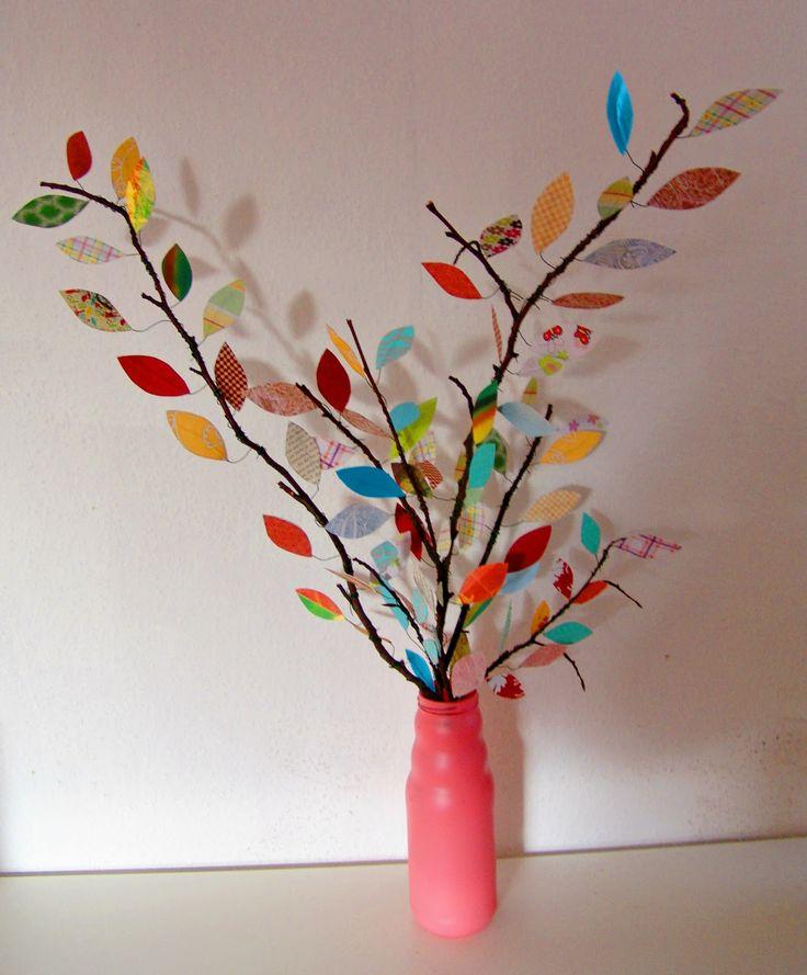 DIY Bunte Blätter