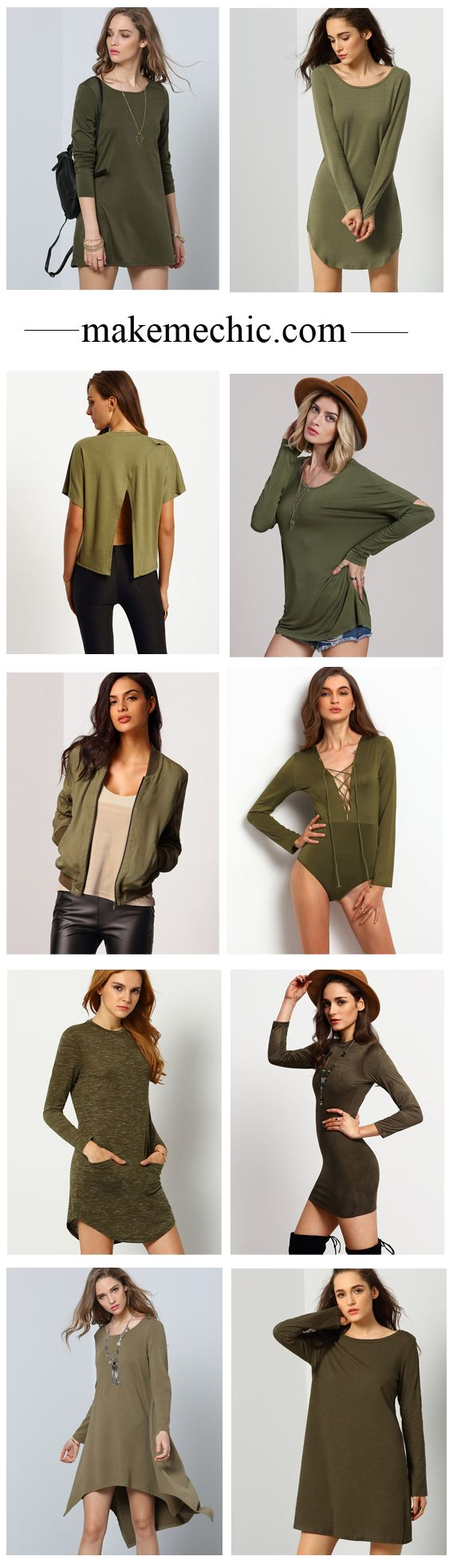 Feel breezy for a day with one of these cool army clothes. Easily pair with jeggings or shorts and you are good to go casual style.