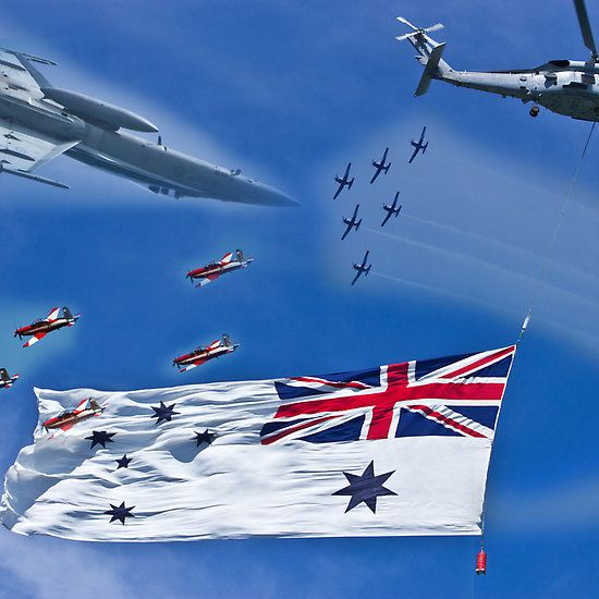 Aircraft from Sydney Navy Review