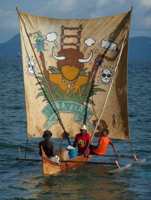 Gouzou by the Reunionese Jace (Anakao, Madagascar)