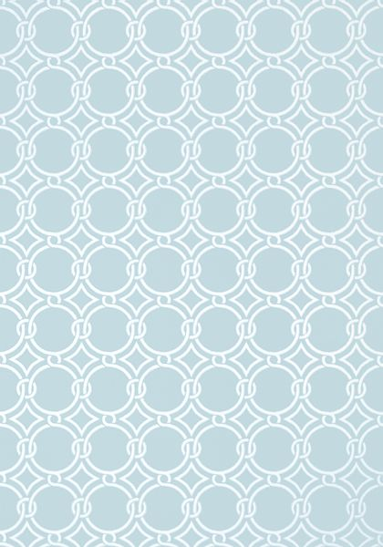 Gilon #wallpaper in #blue from the Geometric Resource 2 collection. #Thibaut