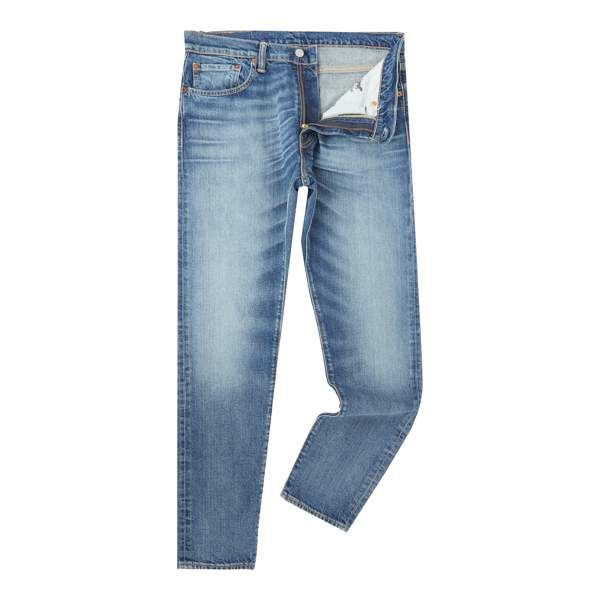Men's Levi's 512 Charley slim tapered fit mid wash jeans