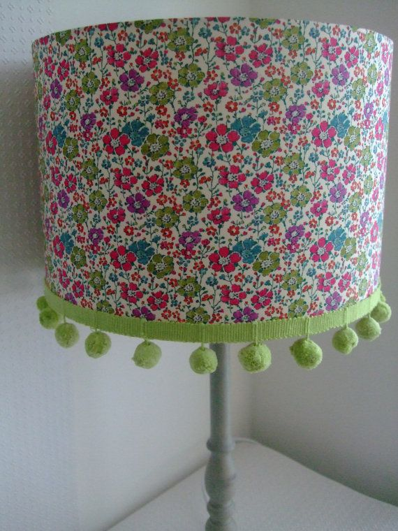 Liberty Tana Lawn  Clarisse Handmade Lampshade 30cm by EvieEccles