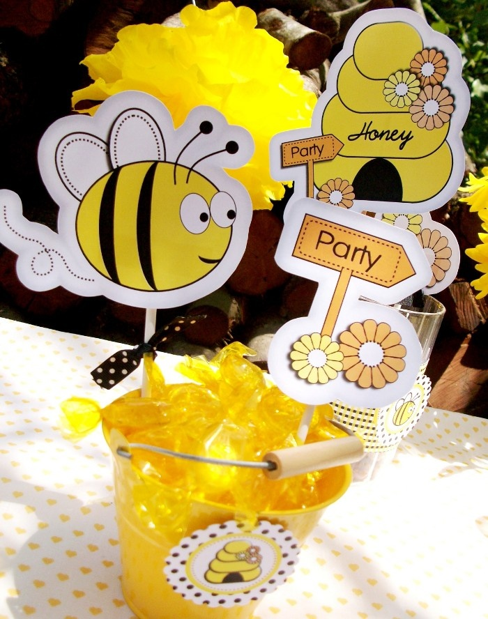Honey Bee Day Inspired Birthday Party