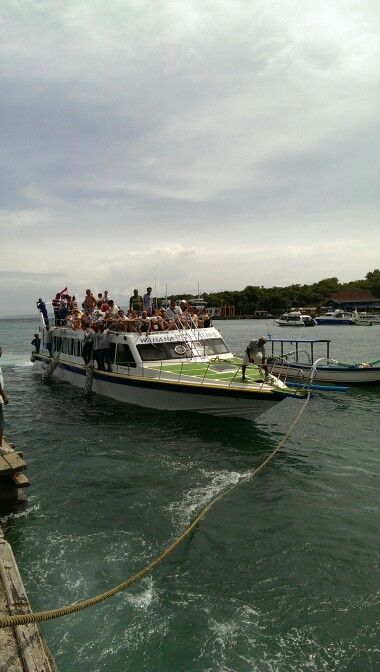 To Gili Trawangan, Lombok.