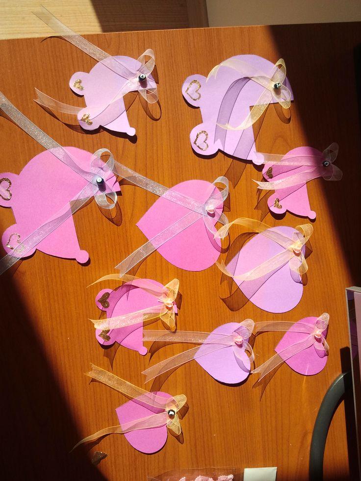 Babyshower Memory Post-it - Asmalı Tasarım