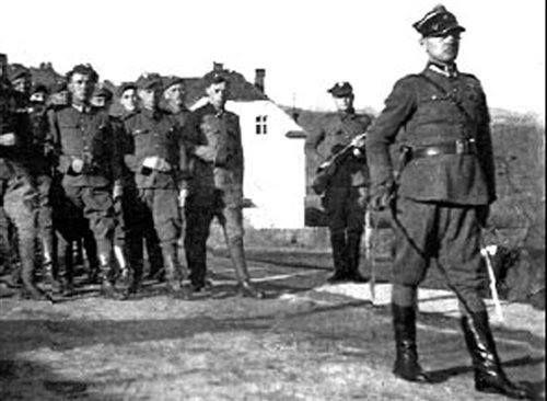 """Por. Stanisław Kopik """"Zemsta"""", ur. 15 sierpnia 1914 w Słomczynie k. Jeziornej woj. warszawskie."""