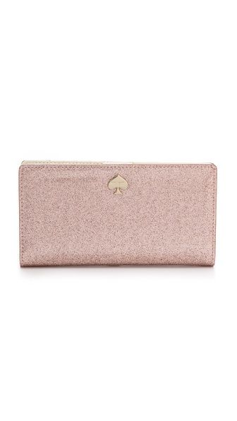 Kate Spade New York Stacy Glitter Continental Wallet SHOP BOP 25% OFF