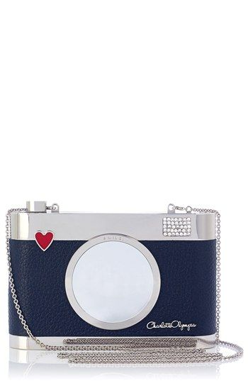 Charlotte Olympia 'Camera' Clutch available at #Nordstrom