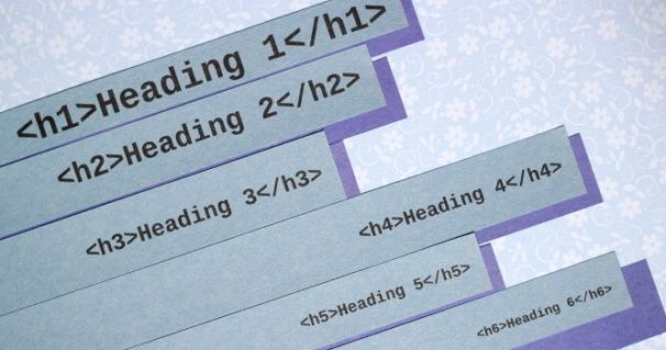 Taktik terbaik penggunaan tag H1 sampai dengan H6 untuk meningkatkan SEO melalui Onpage SEO. Memperbaiki struktur heading adalah hal penting