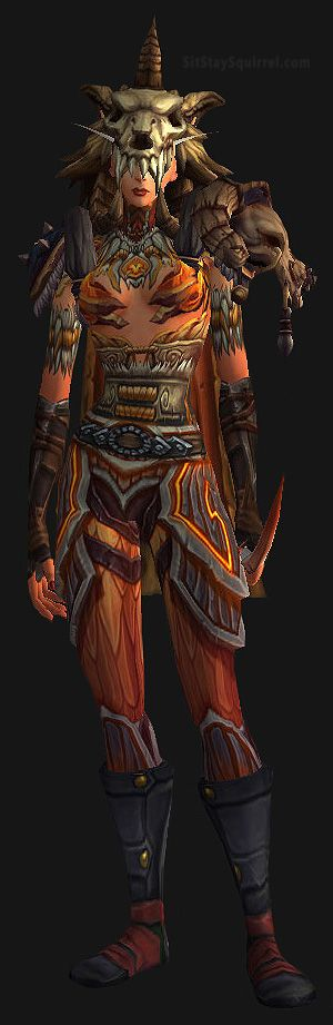 Female Blood Elf Hunter Transmog