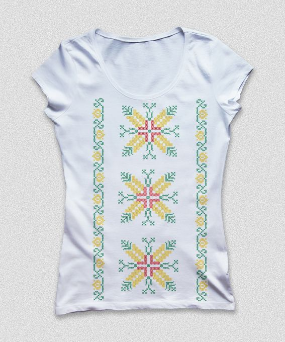 "T-shirt Dobrogea with romanian motif ""Aripile morii""  shop: http://theitem.co/product/t-shirt-dobrogea"
