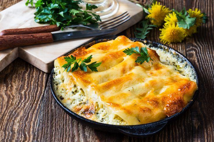 Gefüllte Cannelloni - und Pasta-Träume werden wahr: Die Cannelloni werden mit Spinat ...