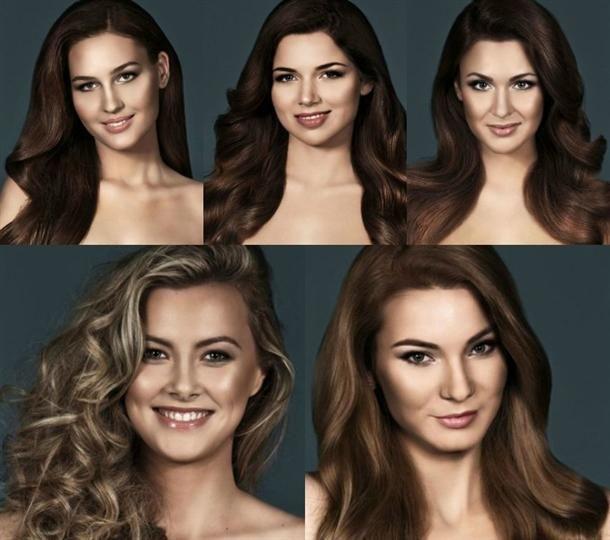 Miss Slovensko 2016 Headshots