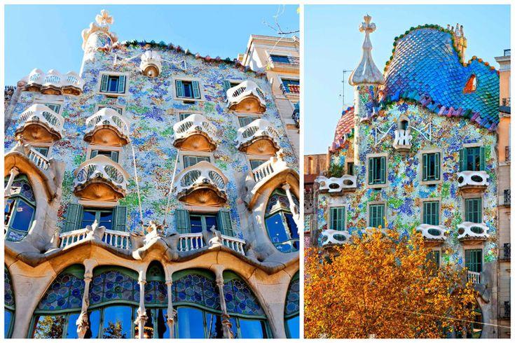 Ну и конечно же шедевр Антонио Гауди - Дом Бальо в Барселоне