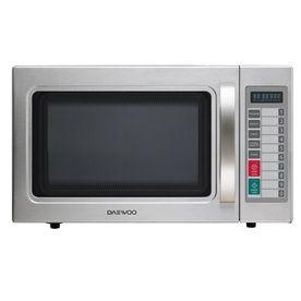 Daewoo 1 Cu Ft 1 000 Watt Commercial Countertop Microwave Stainless Steel Kom 9p5ces Stainless Steel Microwave Countertop Microwave Microwave