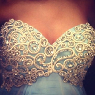 My old prom dress. still like to put it on once in a while :) ashleyahoy