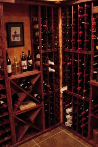 home wine cellar: Home Wine Cellar, Wood Colors