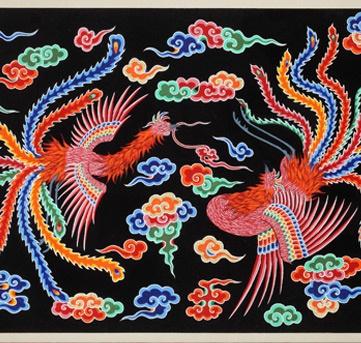 Dancheong, Painting of Phoenix